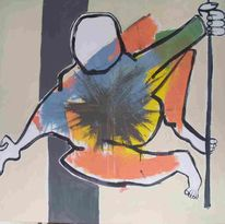 Abstrakt, Körper, Malerei