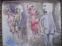 Macht, Gewalt, Malerei