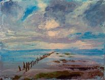 Natur, Nordsee, Strand, Carolinensiel