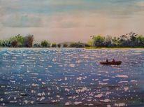 Bistensee, Gewässer, Landschaft, See