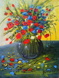 Kugelvase, Taschenkunst, Licht, Blumen