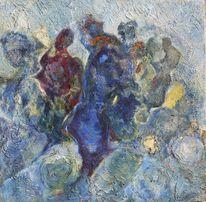 Expressionismus, Kubismus, Abstrakt, Ölmalerei