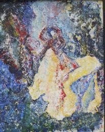 Kubismus, Gitana, Abstrakt, Zusammenstellung