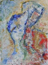 Kubismus, Portrait, Abstrakt, Expressionismus
