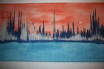 Malerei, Abstrakt, Welt