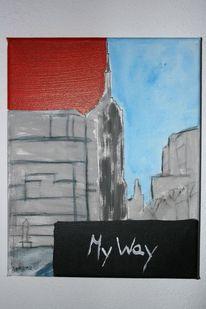 Malerei, Abstrakt, York