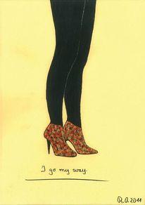 Was ist liebe, Schuhe, Pumps, Weg