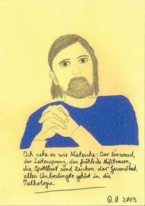 Blick, Gesundheit, Nietzsche, Spottlust