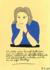 Handkette, Blau, Freigeist, Philosophie