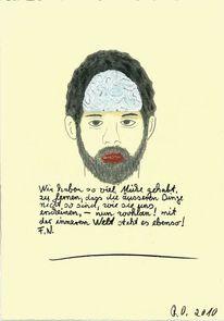 Nietzsche, Weltbild, Gehirn, Menschen