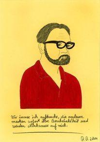 Philosophie, Rot, Unsympathisch, Brille