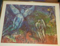 Engel, 1978, Adam und eva, Chagall