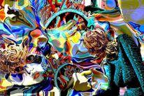 Fantasie, Digitale kunst, Abstrakt