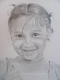 Zeichnungen, Portrait, Mädchen