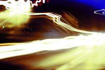 Digital, Langzeitbelichtung, Autobahn, Lichtmalerei