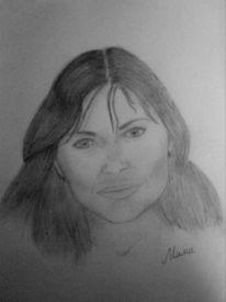 Frau, Mutter, Portrait, Menschen