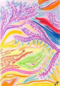 Wohlwollen, Pastellmalerei, Eichelhäher, Malerei