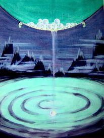 Traum, Acrylmalerei, Geschenk, Rettung