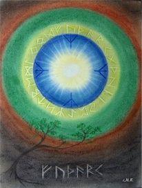Magie, Leben, Schutz, Schrift