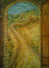Malerei, Mauer