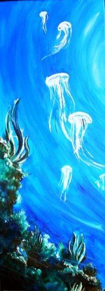 Blau, Riff, Fisch, Wrack