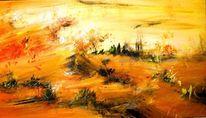 Abstrakt, Sand, Acrylmalerei, Wüste
