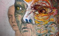 Traum, Zeichnung, Bleistiftzeichnung, Tusche