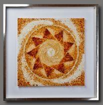 Energie, Spirale, Kustwerk, Weiß