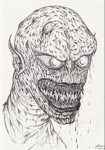 Gesicht Horror Zeichnung 9 Bilder Und Ideen Zeichnen Auf Kunstnet