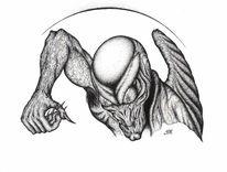 Engel, Dämon, Geist, Fantasie