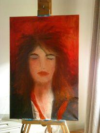 Mann, Ölmalerei, Portrait, Unisex