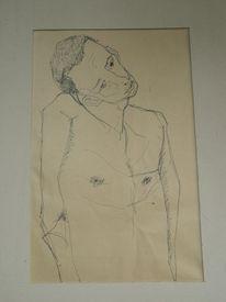 Expressionistische malerei, Soldat