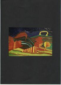 Abstrakte malerei, Tal