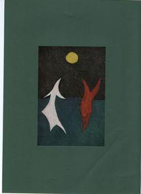 Abstrakte malerei, Kampf