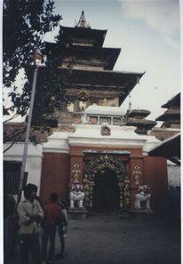 Asien, Tempel