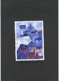 Abstrakte malerei, Griechenland