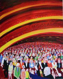 Menschliche, Publikum, Konzertbesuch, Beziehung