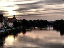 Donau, Traumhaft, Himmel, Regensburg
