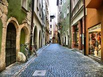 Stadt, Fenster, Architektur, Straße