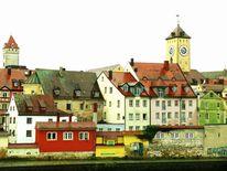 Altstadt, Magie, Regensburg, Ort