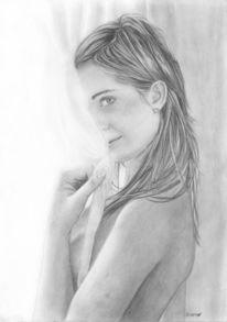 Haare, Profil, Akt, Augen