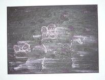 Dunkel, Lila, Veilchen, Blumen