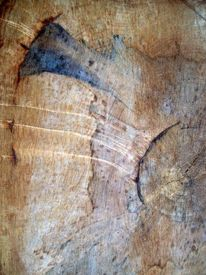 Baum, Modern, Struktur, Digitale kunst