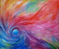 Abstrakt, Acrylmalerei, Malerei, Aufbruch
