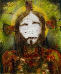 Gemälde, Jesus, Malerei,