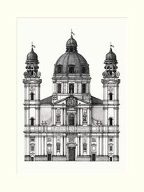 Theatinerkirche, München, Bayer, Paul wallis
