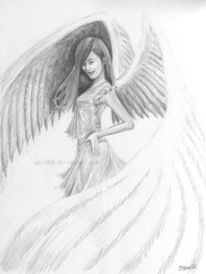 Engel, Zeichnungen