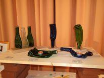 Fusing, Glas, Flasche, Glasobjekt