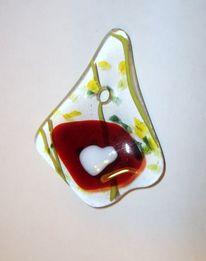 Glasobjekt, Fusing, Glas, Glasschmuck