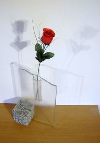 Fusing, Glasvase, Glas, Fusingglas